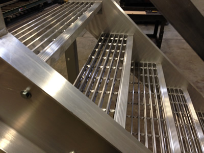 Superb Bar Grating Stair Treads, Welded Steel Treads, Galvanized Treads, Metal  Replacement Stair Treads, Non Skid Stair Treads