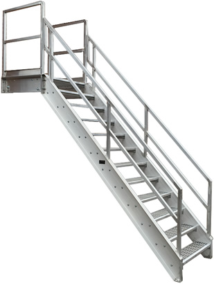 Delicieux Our Horizontal Stair Extensions To Form The Walkway Most Suited To Your  Building Or Manufacturing Process. The Sketches Below Are