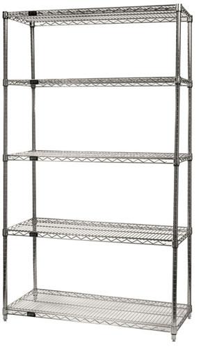 chrome wire shelves - Chrome Wire Shelving
