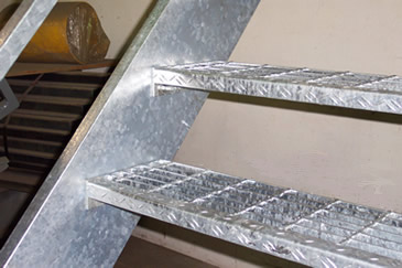 Boca Prefab Stairways Commercial Stair Galvanized Stairs
