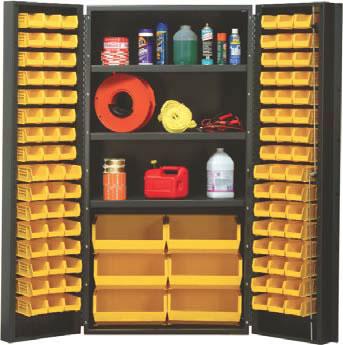 ... heavy duty 36  wide all-welded bin cabinets & Heavy Duty All-Welded Bin Cabinets Plastic Bin Welded Cabinet Bin ...
