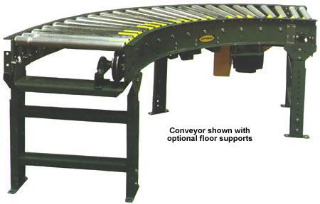 Accumulating Conveyor, Conveyor, Live Roller Curve Conveyor, Roller