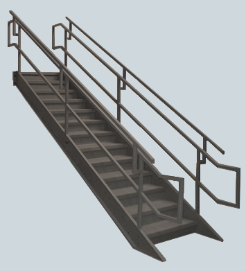 Industrial Institutional Ibc Stairs