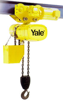 Yale Electric Chain Hoists, Hoists with Motor-Driven Trolley on