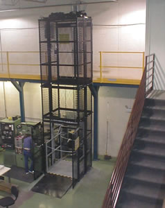 Modular Vertical Lifts, Mezzanine Lift, Custom Industrial