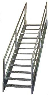 Galvanized Stairways, Osha Stairs ...