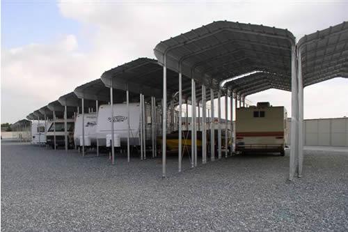 Camper Wheel Chocks >> Carports, Steel Shelters, Storage Shelters, Boat, Vehicle