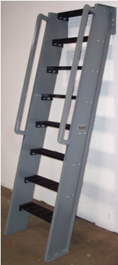 Delightful Ships Ladder Extented Handrail, Ships Ladder